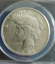 1923 S Peace Dollar ANACS AU50 VAM 1