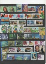 Australia 2004-07 collection of 50 used stamps all different