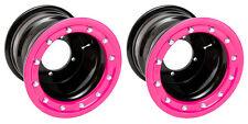 YFZ 450 YFZ 450R  Rear Wheels  Beadlock  9x8  3+5  4/115 Alba Racing Black Pink