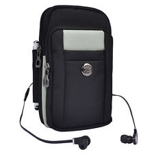 New Gray Shoulder Belt Phone Pouch Bag For Samsung Galaxy Note 5 / Iphone 7 Plus
