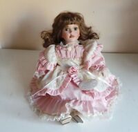 Collectible Leonardo Collection Nicole Doll Porcelain Soft Body Doll Home Decor