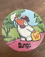 Original 1970 S grand librement Autocollant BUNGO RARE!