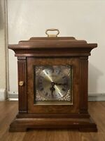 STRAUSBOURG MANOR QUARTZ WESTMINSTER WOOD MANTLE CLOCK -WESTMINSTER CHIMES FOSCC