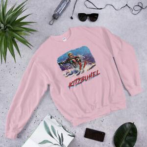 Kitzbuhel, Austria Skiing Shirt, Retro Ski, Skier Gift Vintage Retro Sweatshirt