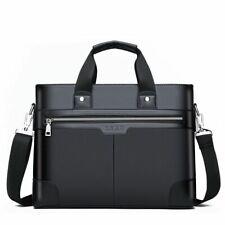 Men Leather Shoulder Handbags Fashion Business Bags Male Laptop Briefcase Bag
