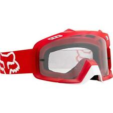 NEW Fox Goggle Air Space Red With Clear Lens from Moto Heaven