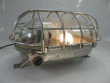 XXXL Antik Bergbaulampe Bunkerlampe Industrie Design Ex Geschützt Wwandlampe