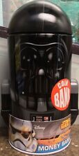 """STAR WARS DARTH VADER 7"""" ROUND DOME TIN COIN BANK BRAND NEW FREE SHIPPING!"""