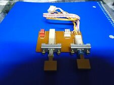 TEAC X-2000 X-2000R SPEED SWITCH ASSY P/N 5200136200 WITH PUSH BUTTONS USED