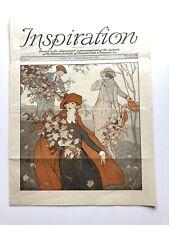 October November 1921 Inspiration Magazine Woman's Institute Millinery Fashion