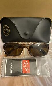 Ray Ban RB4115  642/73 Sunglasses Havana w/ Brown Classic *NEW* 57mm