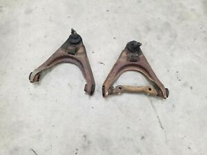 1966 Fleetwood Brougham Right Left Front Upper Control Arms OEM Cadillac 66