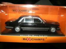 1:43 Maxichamps Mercedes-Benz 560 SEL W126 black/schwarz Nr. 940039300 in OVP
