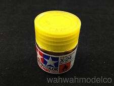 Tamiya 81524 Acrylic Mini X-24 Clear Yellow - 10ml Bottle