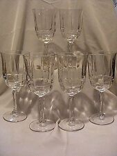 Cristallerie Zwiesel Germany Bordeaux Goblets Beverage Crystal Set of 6 #230