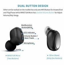 Wavefun 5.0 Micro Bluetooth Mini Invisible Earbud Black Open Box