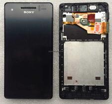 Pantalla Completa Lcd + Tactil con Marco Sony Xperia V LT25i 100% Original Negra