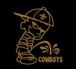 New Orleans Saints Piss on Dallas Cowboys shirt Drew Brees Kamara Thomas Who Dat