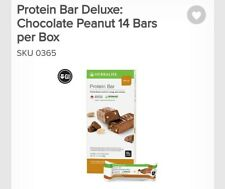 Herbalife💚💚 Protein Bar Deluxe (peanut chocolate) 14 Bars per Box
