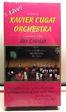 Live In Concert Xavier Cugat Orchestra VHS Conducted By Ada Cavallo