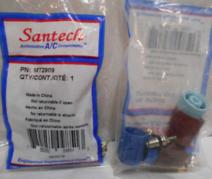 Lot of 2 New A/C System Valve Core and Cap Kits Santech Industries MT2909