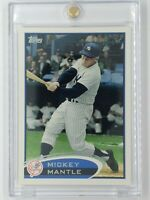 2012 12 Topps Error 3B Twice Mickey Mantle #7, New York Yankees, HOF