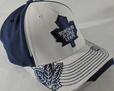 LZ Reebok Adult Fitted S/M Toronto Maple Leafs NHL Baseball Hat Cap NEW NWT E53