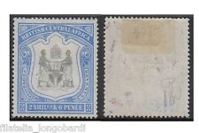BRITISH CENTRAL AFRICA stamps 1897 2/6 Shillings black/ultram. SG.48 MH -F406