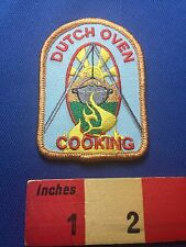 Fun Dutch Oven Cooking ~ Cook / Chef Patch ~ 73X0