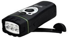 Dynamo USB Powered LED Flashlight Fm Scan Radio Powerplus Wolf