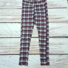 Blue Check Tartan Nero Split Gambe Pantaloni Attillati Punk Stretch Banned Apparel