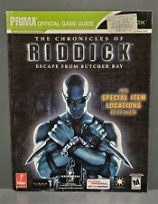 The Chronicles of Riddick: Escape from Butcher Bay Official Strategy Guide