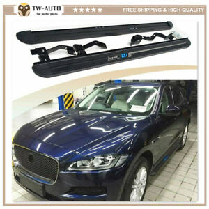 Fits for Jaguar F-Pace F pace 2016-2020 Running Board Door Side Step Nerf Bar