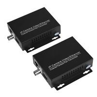 Ethernet IP Extender Over Coax EoC Coaxial Cable For Security CCTV Camera 95%