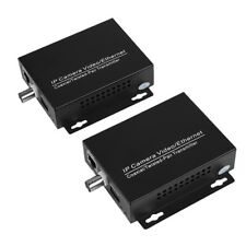 Ethernet IP Extender Over Coax Coaxial Cable For Security CCTV Camera Hot