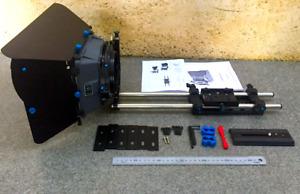 Proaim Professional Filming Matte Box & Follow Focus Rail Rod Support Set Up GC