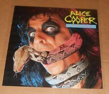 Alice Cooper Constrictor Poster Original Promo 24x24