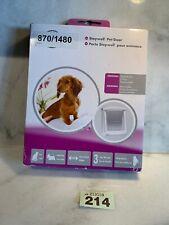 PetSafe Staywell Original White 2 Way Pet Door Small Cat Dog Flap 715EF