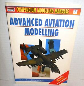 BOOK Osprey Modelling Manuals #2 Advanced Aviation Modelling All Color Photos