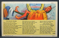 Us soldiers Mail postcard the sailors prayer carte postale AK (Lot 9560