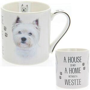 House and Home Westie Mug