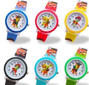 Paw Patrol Helfer auf vier Pfoten Kinder Armbanduhr /Kinder Uhr