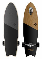 "Street Surfing SHARK ATTACK Longboard Casterboard Surf Carving Cruiser 9.6 x 36"""