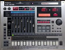 Roland MC-808 Sampling Groovebox Squencer Synthesizer Sampler with Power supply