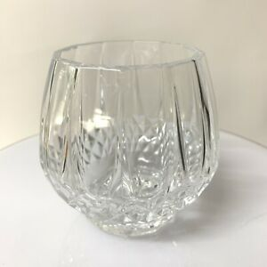 """Longchamp d' Arques Cristal Crystal Votive 3.5"""" with box and pamphlet"""