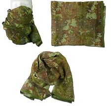 SCIARPA RETE SOFTAIR VEGETATO - TOP FLY GEAR TFG 2510  AIRSOFT TACTICAL SCARF