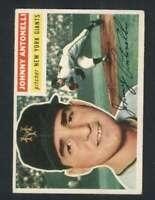 1956 Topps #138 Johnny Antonelli VGEX NY Giants 94622
