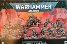 WARHAMMER 40K CHAOS SPACE MARINES DECIMATION WARBAND BATTLEFORCE - NEW