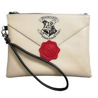 Harry Potter Hogwarts Women Handbags Zipper Clutch Wristlet Wallets Cosmetic Bag