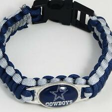 NFL Football Paracord Bracelet! - DALLAS COWBOYS